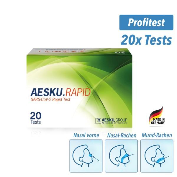 AESKU.RAPID COVID-19 Schnelltest (20/P)