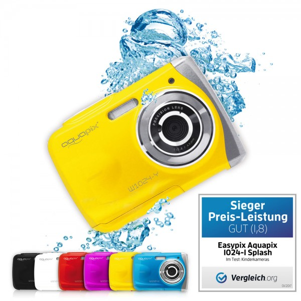 "Aquapix W1024-Y ""Splash"" Yellow"