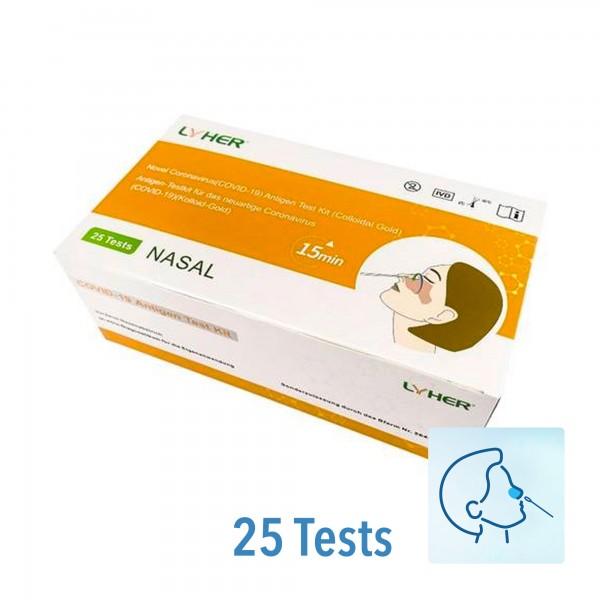 LYHER® Covid-19 Antigen Schnelltest (Nasal) (25/P)