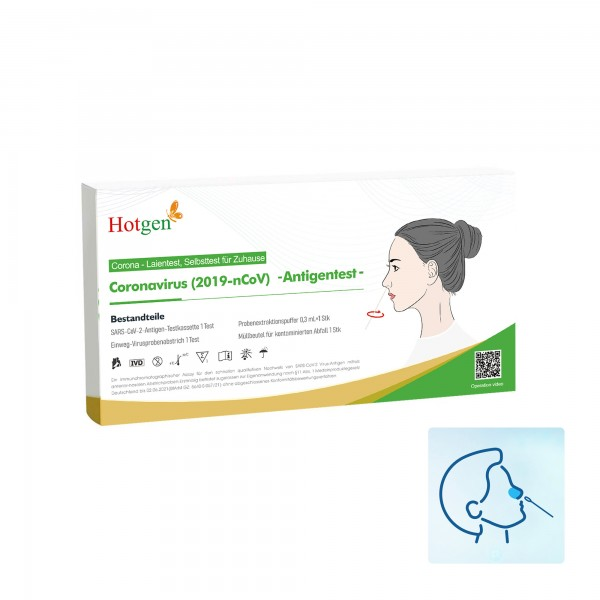 Hotgen Coronavirus (2019-nCoV)-Antigentest (1/P)