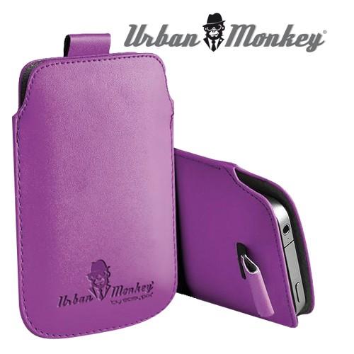 """Smartphone pouch 4"""" purple"""