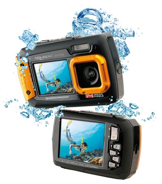 """Aquapix W1400-""""Active"""" orange gebraucht-wie neu"""