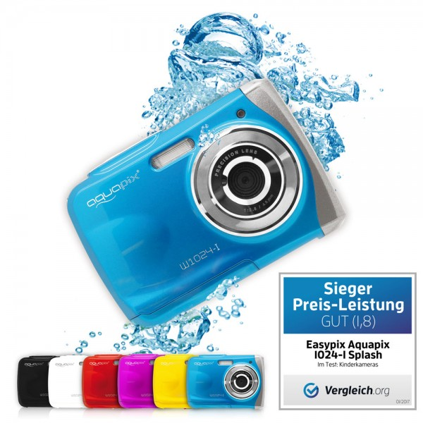 """Aquapix W1024-I """"Splash"""" Iceblue gebraucht wie ne"""