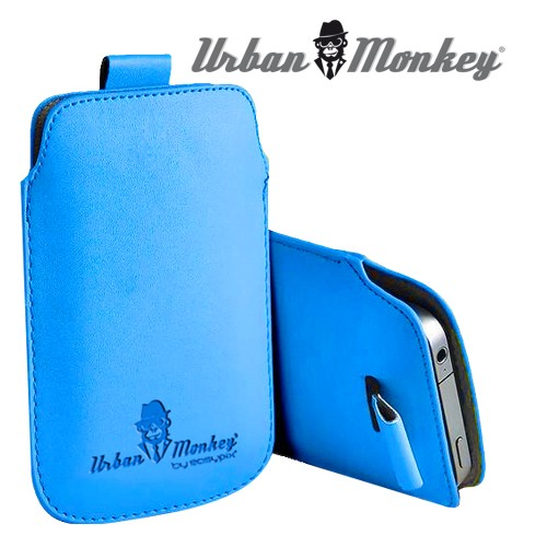 """Smartphone pouch 5"""" iceblue"""